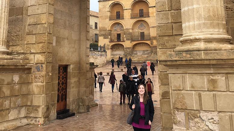 Voorheis in Córdoba, Spain.  Photo courtesy of Devyn Voorheis.