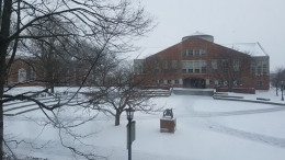 McDaniel enters a Dark Ice Age, academically and literally. Photo by Marya Topina.