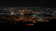 Damascus, Syria at night in 2011. Photo courtesy of James Filipi. Licensed under Creative Commons 2.0.