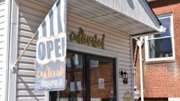 Cultivated's storefront. (Mikayla Whitehead / McDaniel Free Press).