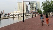 The Inner Harbor is one of several fun destinations near campus. (Amara Foster / McDaniel Free Press).