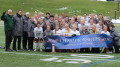 The women's soccer team takes the ECAC championship. (Gunnar Ward / McDaniel Free Press)