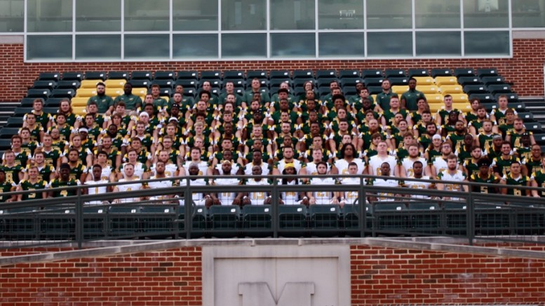 2018 McDaniel Football Team. (Photo courtesy of Luke Stillson).