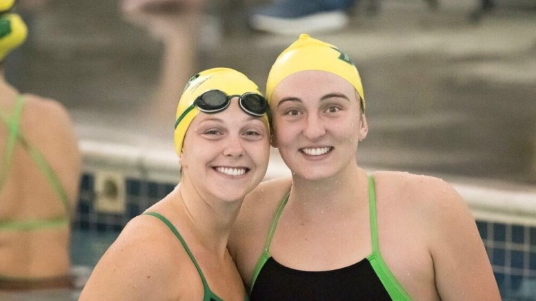 Sara Hegna (left) and Blair Boyle. (Photo courtesy of Blair Boyle ).