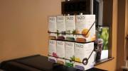 A variety of teas from Tazo Tea Company available in Caseys' Corner. (Atticus Rice / McDaniel Free Press).