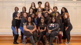 The Phenomenal Women organization. (Photo courtesy of the McDaniel Yearbook committee).
