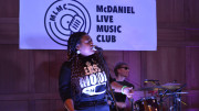 The McDaniel Live Music Club invited two bands to perform in the Forum on Nov. 15. (Shaquille Tairellil / McDaniel Free Press).