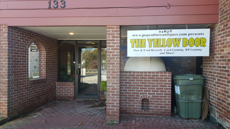 The Yellow Door is located at 133 E Main St. in Westminster. (Laurel Pogue / McDaniel Free Press).