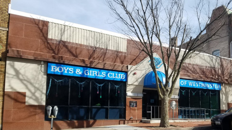 The Boys & Girls Club of Westminster is located at 71 E. Main St. (Marya Kuratova / McDaniel Free Press).