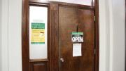 The Financial Aid office is located on the first floor of Elderdice Hall. (Marya Kuratova / McDaniel Free Press).
