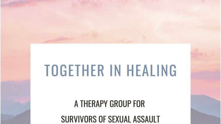 """Together in Healing"" is one of the therapy groups offered at the Wellness Center. (Photo courtesy of the Wellness Center)."