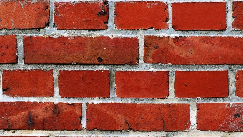 This is not the actual neat looking brick. Can't have you stealing it, now! (Photo courtesy of Pixabay user Kapa65).